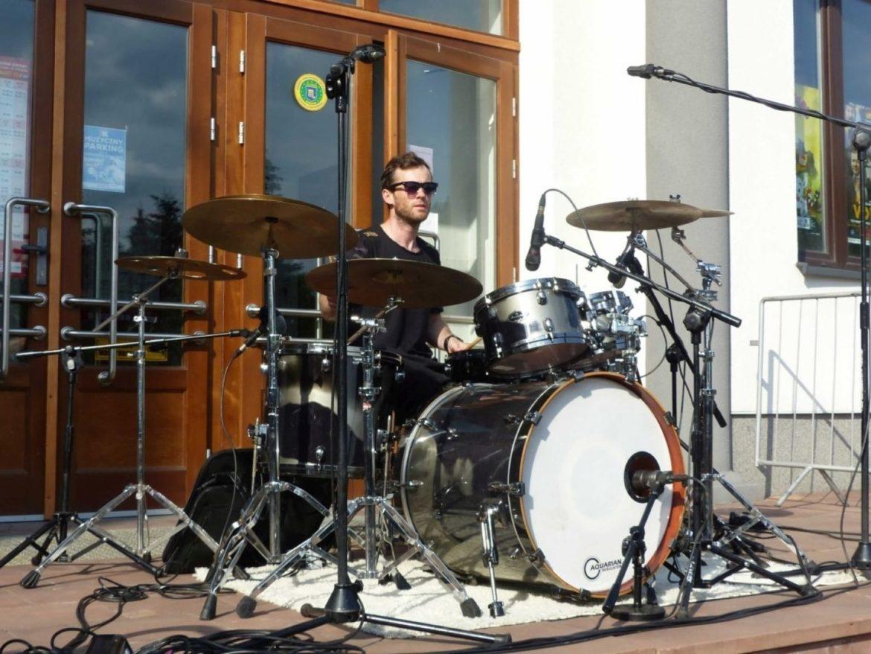 Szkoła Perkusyjna prowadzona przez Grzegorza Dziamkę.