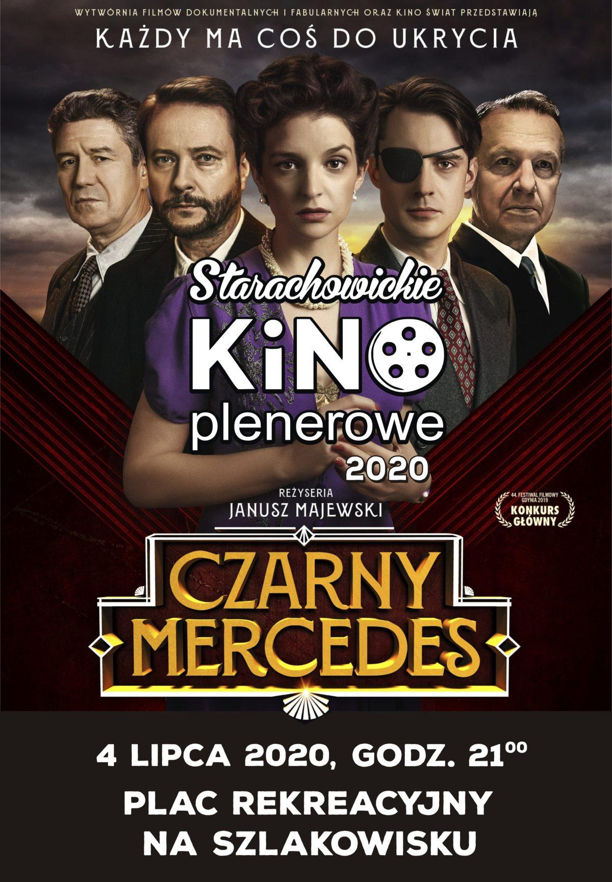 """Plakat filmu """"Czarny Mercedes"""""""