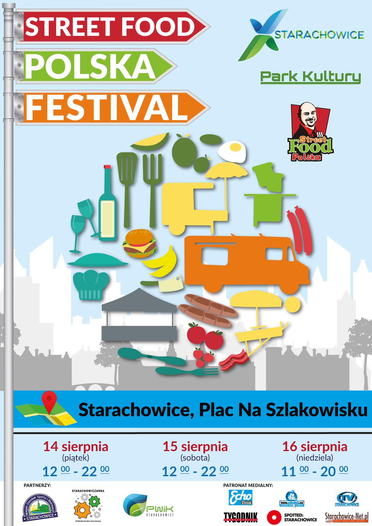 Food trucki wracają do Starachowic!