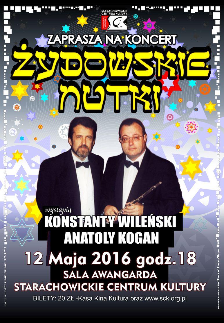 """Archiwum SCK. Koncert """"Żydowskie Nutki"""" w SCK"""
