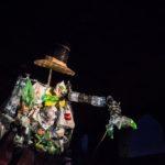 artyści podczas Nocy Teatralnych
