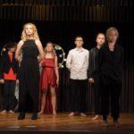 Podopieczni podczas występu