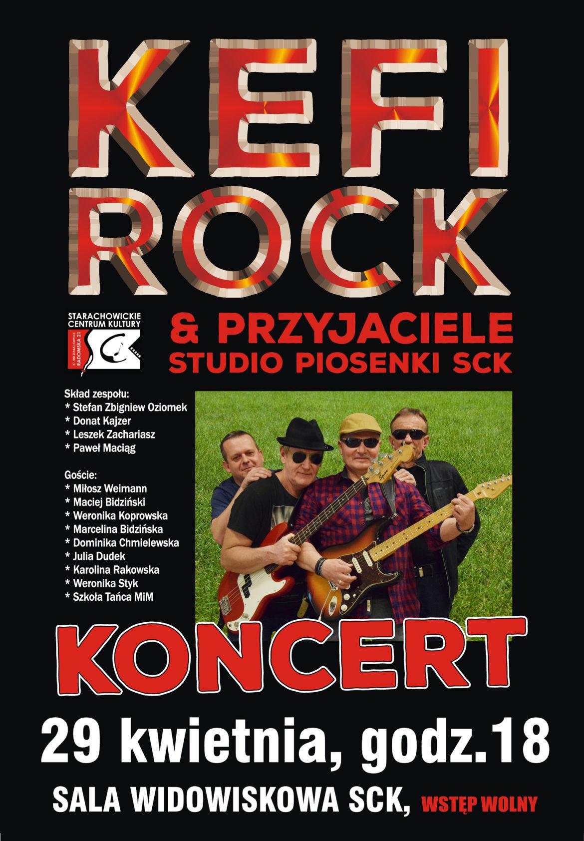 Archiwum SCK. Kefirock & Przyjaciele – Koncert.