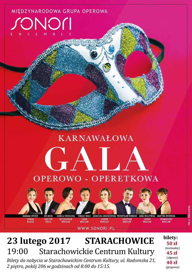 Archiwum SCK. Karnawałowa Gala Operowo-Operetkowa