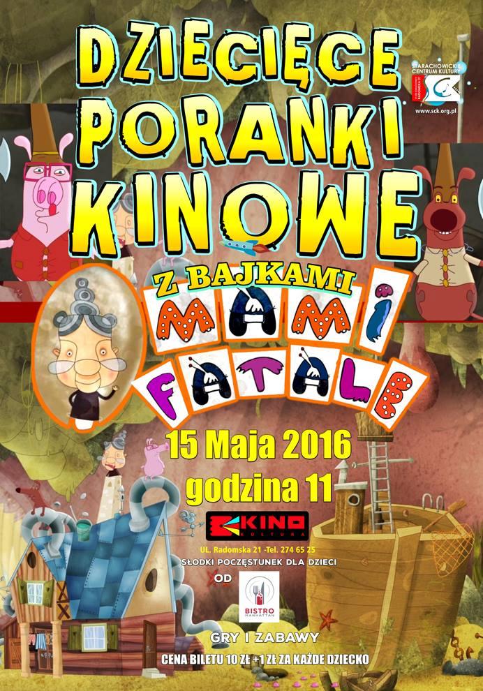 Archiwum SCK. Dziecięce Poranki Bajkowe z KINEM KULTURA.