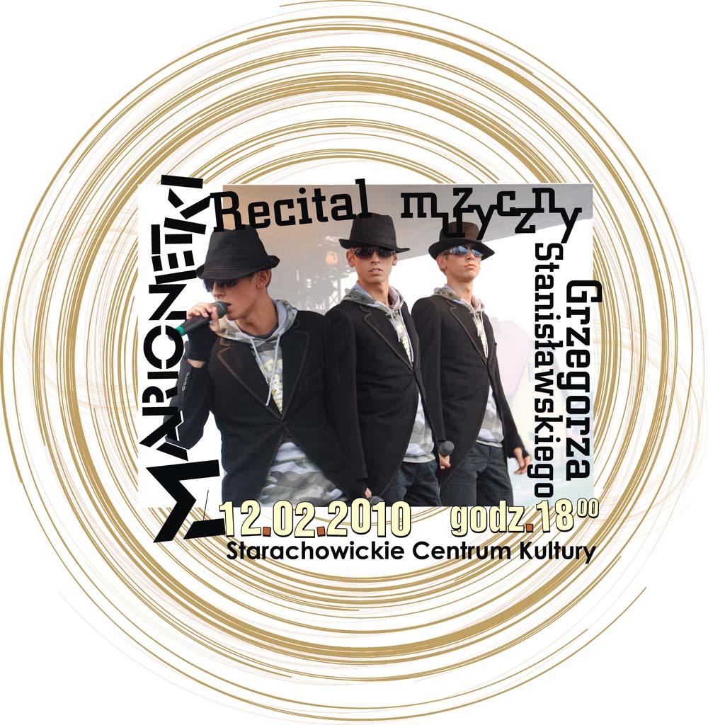 """Archiwum SCK. Recital """"Marionetki"""" Grzegorza Stanisławskiego"""