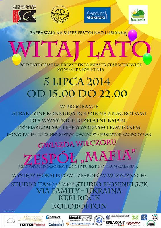 """Archiwum SCK. Festyn rodzinny """"WITAJ LATO"""" w Starachowicach"""