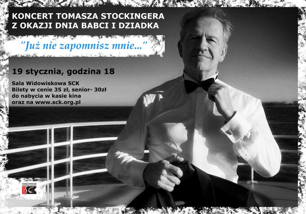 Archiwum SCK. Koncert Tomasza Stockingera z okazji dnia Babci i Dziadka