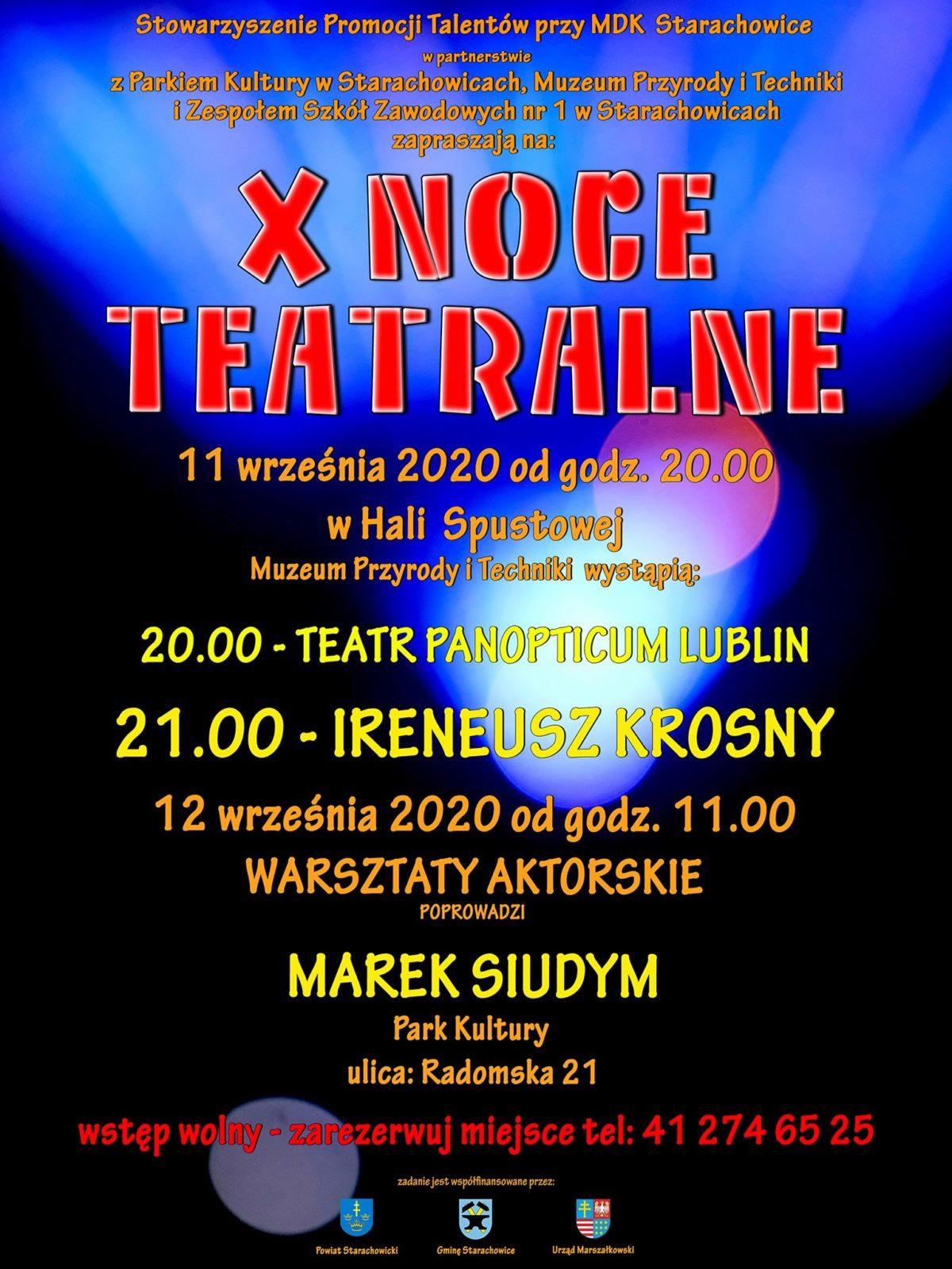 X Noce Teatralne