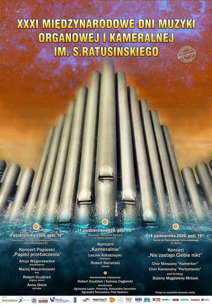 plakat informujący o koncertach