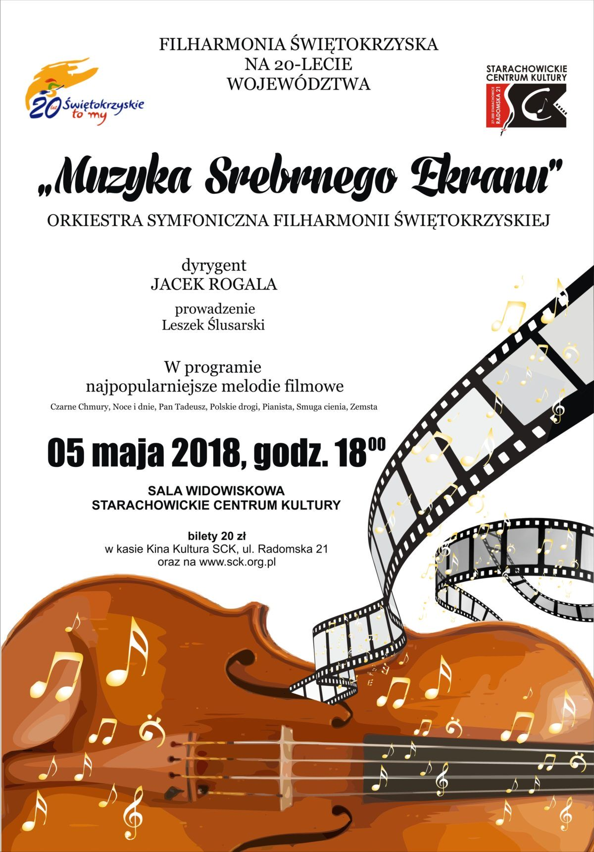 Archiwum SCK. Muzyka srebrnego ekranu