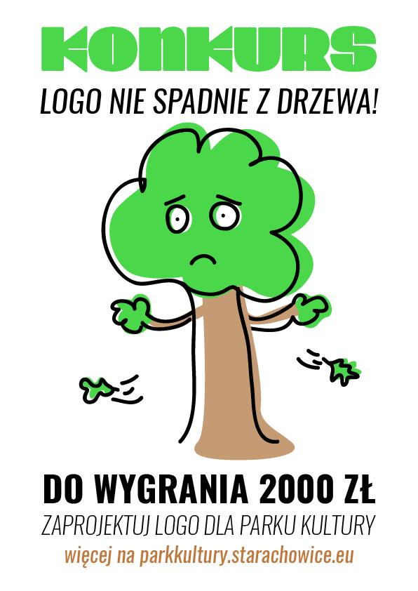 plakat informujący o konkursie - do wygrania 2000 złotych