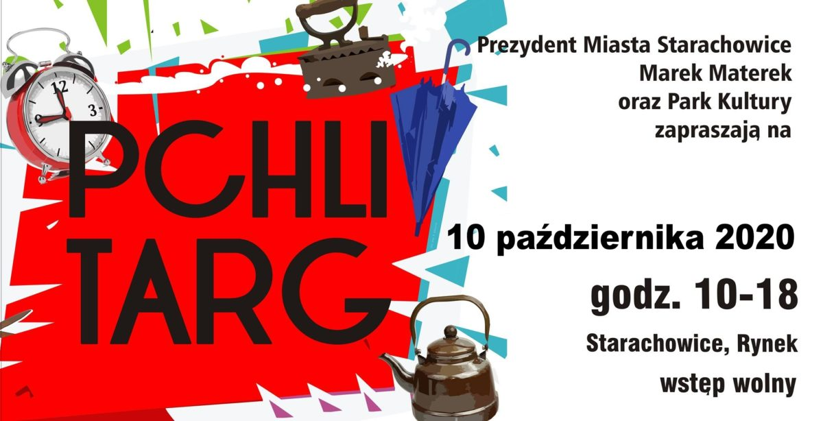 pchli targ - zaproszenie