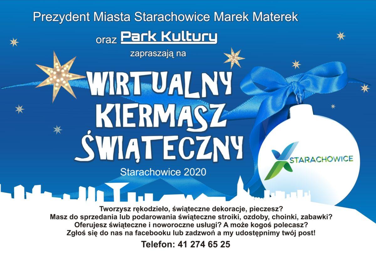 Wirtualny Kiermasz Świąteczny Starachowice 2020