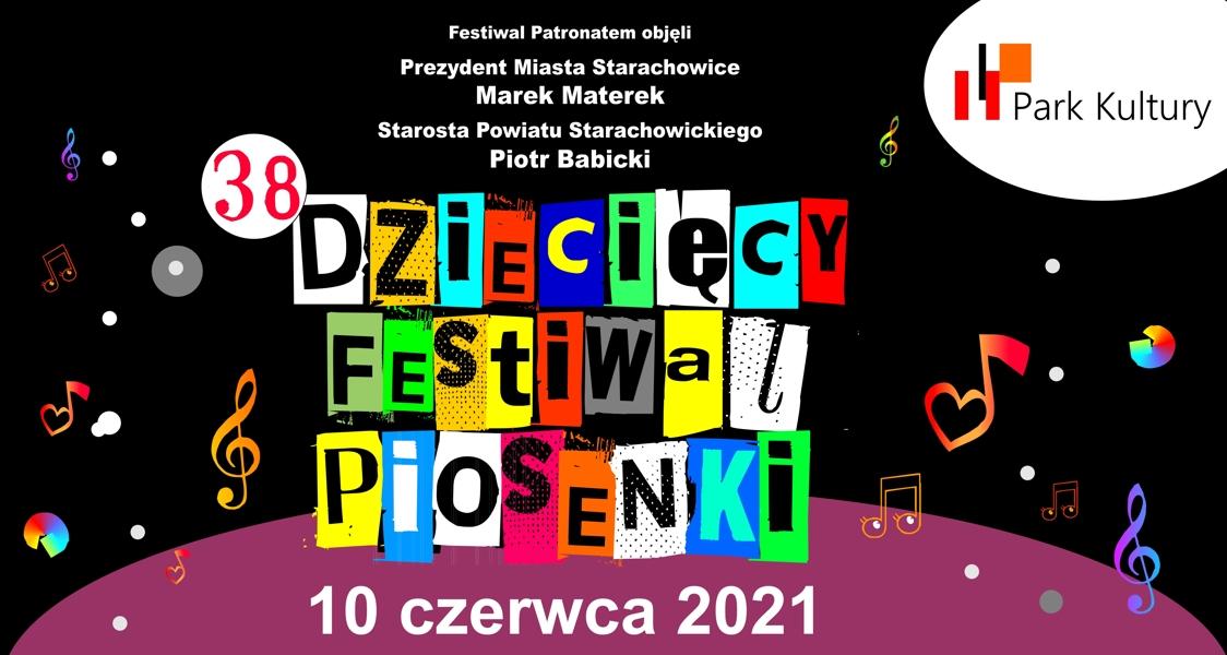 festiwal piosenki - baner