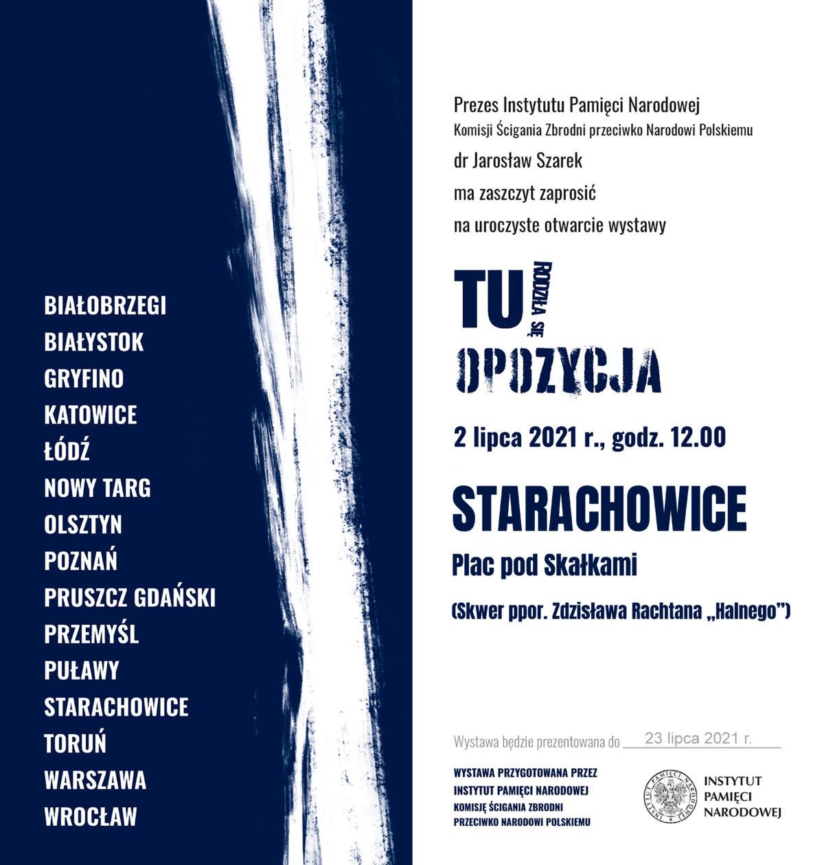 """""""TU rodziła się opozycja. Między Czerwcem '76 a Sierpniem '80"""""""