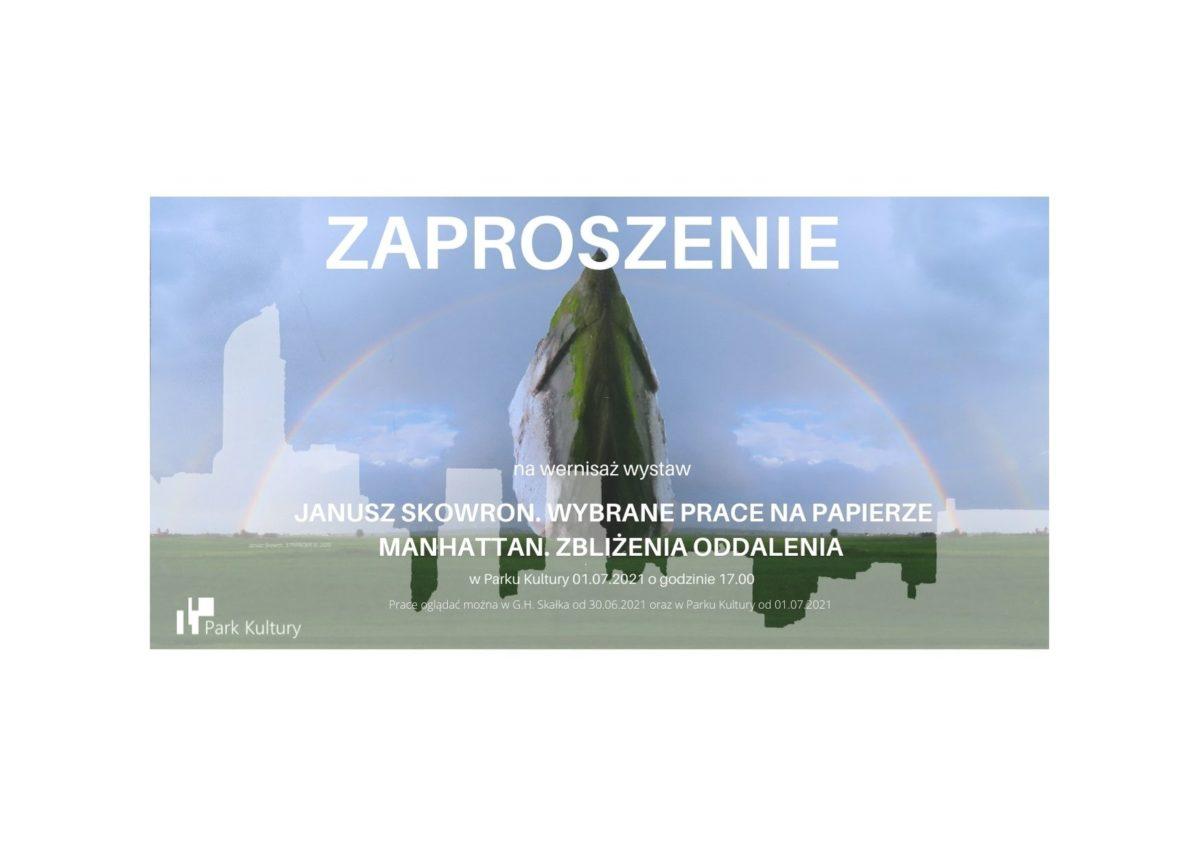 Wernisaż wystaw Janusza Skowrona