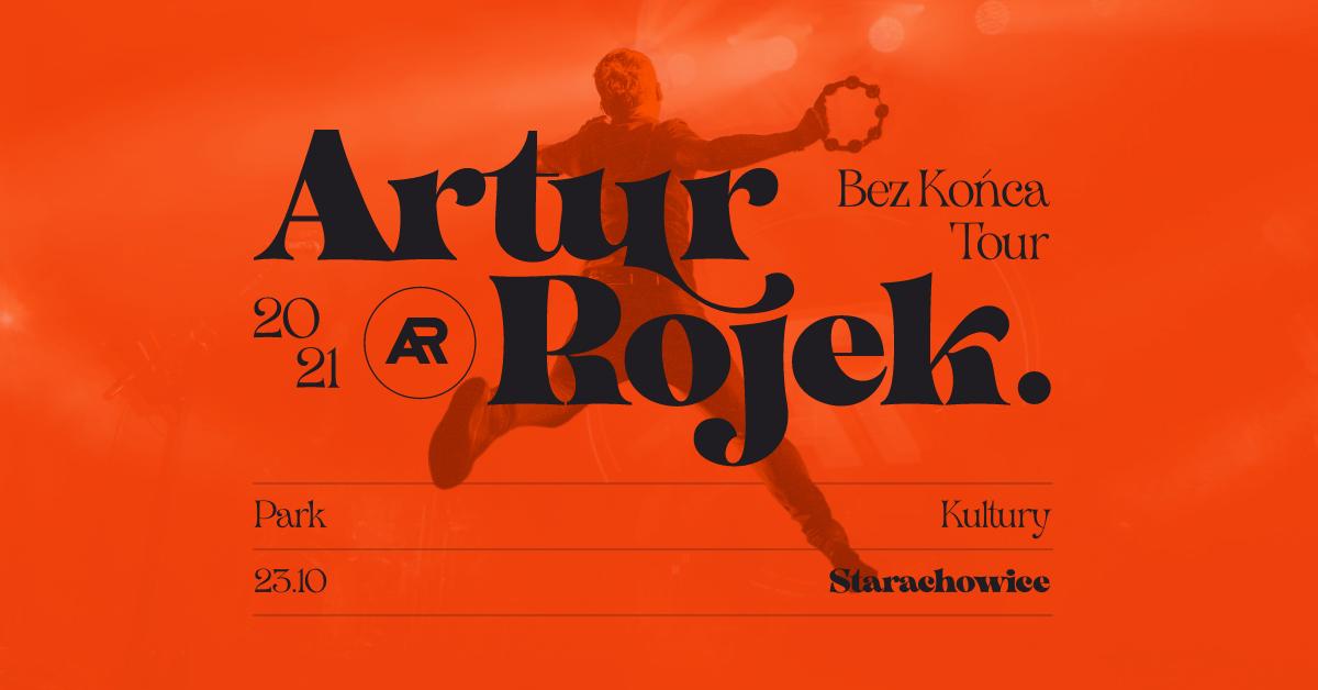 Artur Rojek w Parku Kultury w Starachowicach!